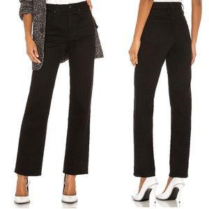 SLVRLAKE London High Waisted Jeans Jet Black